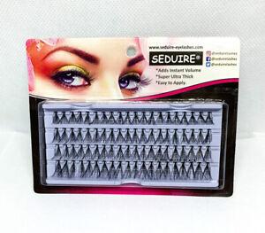 Individual False Cluster Eyelashes 80 Stand Thick 8/10/12mm/Mixed Flare Knot UK1