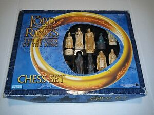 Lord Of The Rings - The Return Of The King Chess Set PLEASE READ