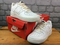 NIKE AIR FORCE 1 WHITE REPTILE LEATHER TRAINERS LADIES CHILDRENS VARIOUS SIZES T