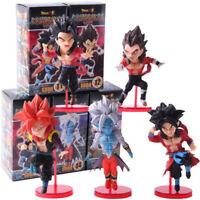 5 Pcs/Set Dragon Ball WCF Super Dragonball Heroes Vol.3 PVC Figure Model Toy