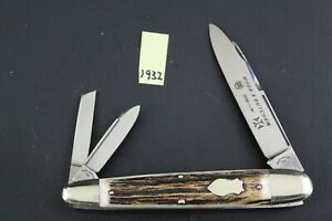 Wade and Butcher XCD Stag Jumbo Whittler Pocket Knife 1932