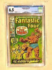 Fantastic Four #107  - 1st App. of The Nega-Man - CGC 6.5  - Marvel 2/71
