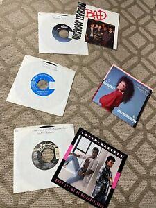 rare ALL NM VINYL 45's Pop Soul R&B Dance incl MICHAEL & LATOYA JACKSON
