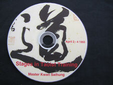 Dvd - Stages In Taois Training - April 2 - 4 1993 Seminar by Master Kwan Saihung