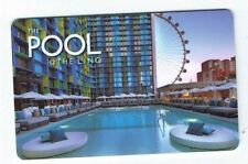 Las Vegas POOL - LINQ Room KEY Card Casino Hotel - High Roller