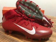 Nike Vapor Untouchable 2 SZ 13 FlyWeave Red Football Cleats 824470-616