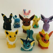 9pcs Eevee Evolution Pokemon Nintendo Bandai Toy Figures Set Sylveon Espeon d