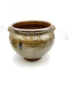 Grande Vasque La Borne grand vase  Pierre Digan vintage ceramic vintage gres
