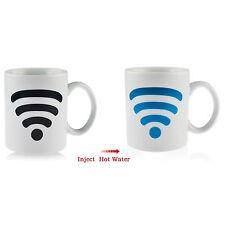 Hotspot Wifi Color Changing Heat Sensitive Mug Porcelain Tea Coffee Milk Gift