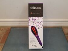 PRO CABELLO LUXURY 5500 STRAIGHTENING BRUSH INFRARED TECH SOFT TOUCH PURPLE NEW