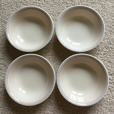 4 Vtg Corelle English Breakfast Beige Blue Pink Dessert Berry Bowls 5.5 Read All