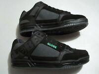 NEW Globe Australia Tilt Men's Size 10.5 Shoes  Black Leather Skateboard Skater