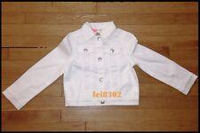 New CRAZY 8 Ivory Denim Jacket - Girls - Size 10/12