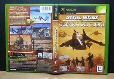 STAR WARS LA GUERRA DEI CLONI - XBOX - PAL - Italiano - Usato