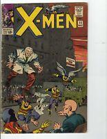 X-men 1965 #11 FIRST APPEAR STRANGER  NICE Marvel Comic xmen x men 11 MAY 1965