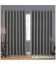 Blackout Patio Curtains Extra Long Wider Thermal Insulated Panel Room Divider