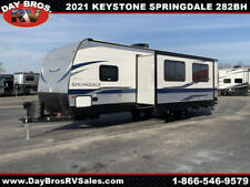 21 Keystone Springdale 282Bh Travel Trailer Towable Rv Camper Slide Sleeps 10