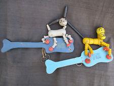 Vintage 1930s Fisher Price Wood Toy Pop Up Kritters Disney Pluto & Dizzy Donkey