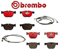 Brembo Front and Rear Ceramic Brake Pads with Sensors Kit For BMW F15 F16 X5 X6