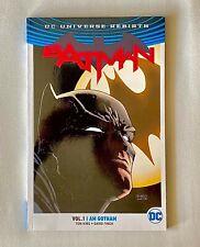 DC Universe Rebirth Batman Vol. 1: I AM GOTHAM DOUBLE SIGNATURE