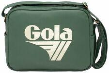 Gola Redford Tournament Umhängetasche Tasche Bottle Green / Off White Grün Weiß