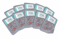 100 x 300cc OXYGEN ABSORBERS in convenient 10-Packs (No waste, no re-sealing!!)