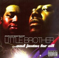 LITTLE BROTHER ...and justus for all CD CORMEGA NOTTZ