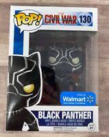 Funko Pop Black Panther Civil War Walmart Exclusive #130 Chadwick Boseman H021