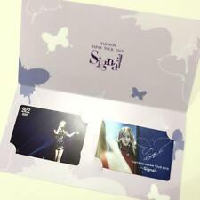 Girls' Generation SNSD TAEYEON JPN TOUR 2019 Signal QUO card set photocard goods