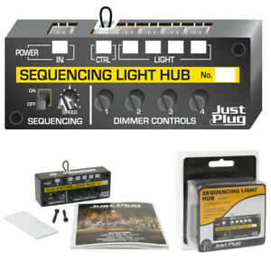 Woodland Scenics JP5680 Just Plug - Sequencing Light Hub All Scales