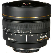 Sigma 8mm f/3.5 EX DG Circular Fisheye Lens for Nikon F