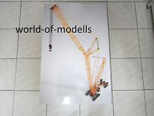 NZG 843 Liebherr Gru cingolata LR 1600/2 Con Derrick 1:50 nuovi scatola