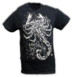 Sting White Scorpion WWE Mens Black T-shirt