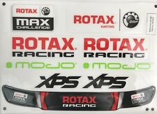 ROTAX EVO  MAX KART STICKER PACK AND VISOR STICKER - TONY KART - NEXTKARTING -