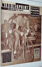MIROIR SPRINT N°639 01/09 1958 ERCOLE BALDINI CHAMPION DU MONDE ARC-EN-CIEL