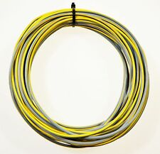 KFZ Kabel Fahrzeugkabel FLRy 1,5mm² 10m Grau / Gelb Auto Pkw Lkw