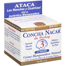 Concha Nacar De Perlop Natural Bleach Cream(clears spots, blemishes and scars)