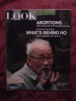 LOOK January 21 1969 HO CHI MINH VIETNAM FAYE DUNAWAY +
