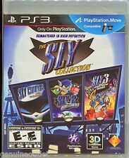PS3 THE SLY COLLECTION SLY 1,2 & 3 for PS3 SEALED NEW