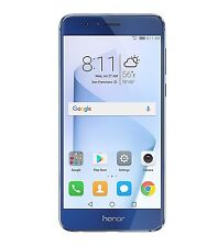 Huawei Honor 8 32GB Unlocked Smartphone DualCamera US Warranty Sapphire blue NEW