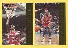MICHAEL JORDAN 1992 Krown International 4 Card Gold Foil Promo Set Bulls HOF'er