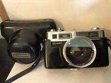Yashica Electro 35 Vintage Rangefinder Film Camera & Yashinon-DX 1:1.7 45mm Lens