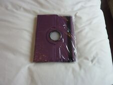 FLIP iPad 360 Rotating CASE COVERS for IPAD 2/3/4 In Purple