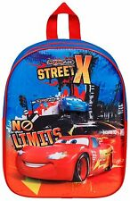 Disney Cars Movie 3 Boys Girls 3D Kids Children Backpack Rucksack Bag