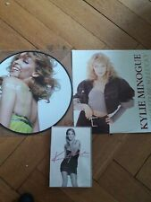 Kylie minogue Rare lot vinyl dvd picture disc i should be i bebelieve in you