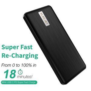 Fast Charging Graphene Power Bank ELECJET Apollo Traveller Battery Portable