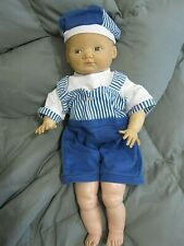 """Vintage Cameo Newborn Baby Doll #5 Rubber 18"""""""