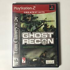 Tom Clancy's Ghost Recon Ps2 Great condition (No Manual)