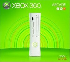 Xbox 360 256MB Arcade Console - White [Xbox 360 VINTAGE , XGX-00069, Gen 1] NEW