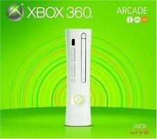 Xbox 360 256MB Arcade Console - White [Xbox 360 System, XGX-00069, Gen 1] NEW